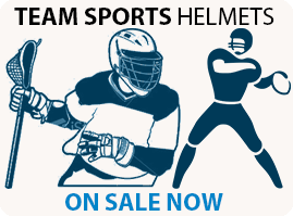 TEAM SPORTS HELMETS ON SALE