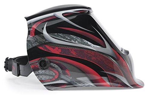 Lincoln Welding Helmet 3350 >> Lincoln Electric Viking 3350 Twisted Metal Welding Helmet With 4c